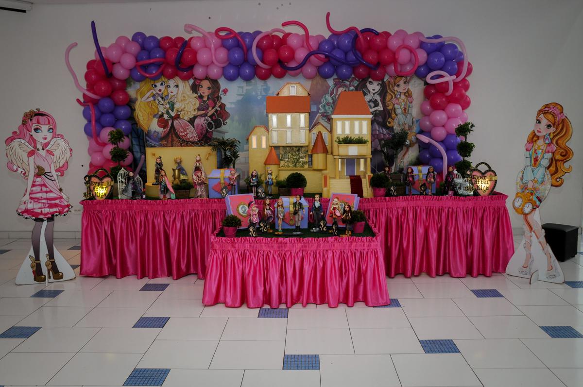 Buffet Max Mania, Panambi, Sp, tema da festa Monster High