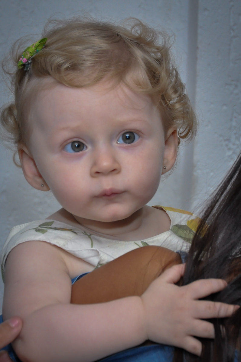 cloe do rostinho da aniversariante na Festa de Maria Eduarda 1 aninho, tema minie vermelha, Buffet Mundo Kids, Osasco São Paulo