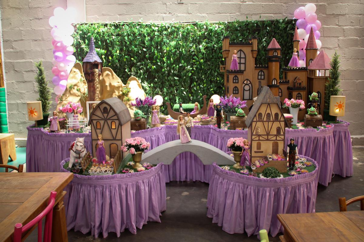 Festa infantil, Sophia 6 anos Buffet O Galpão, Pinheiros, SP, tema da festa Os enrolados