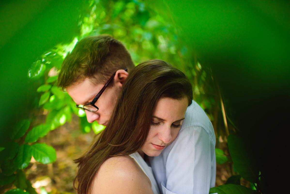 momentos de acolhimento do casal