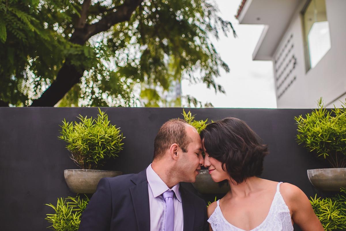 ensaio do casal antes da cerimonia de casaemento