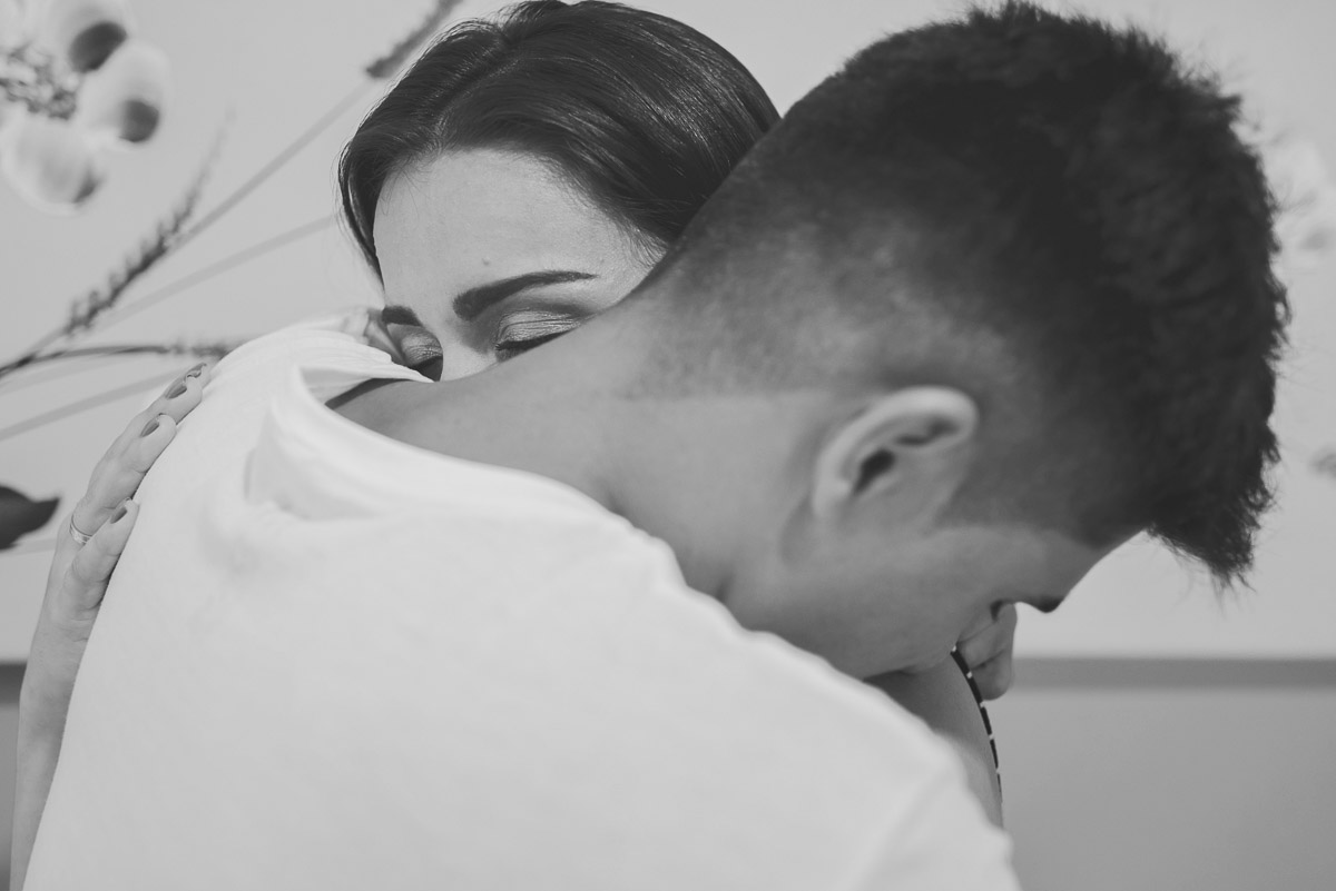 amor e conexão dos noivos