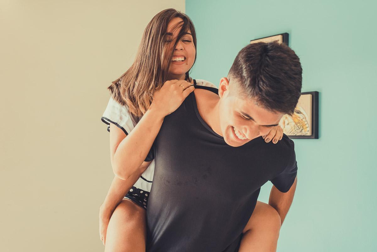 muita emoção com esse jovem casal