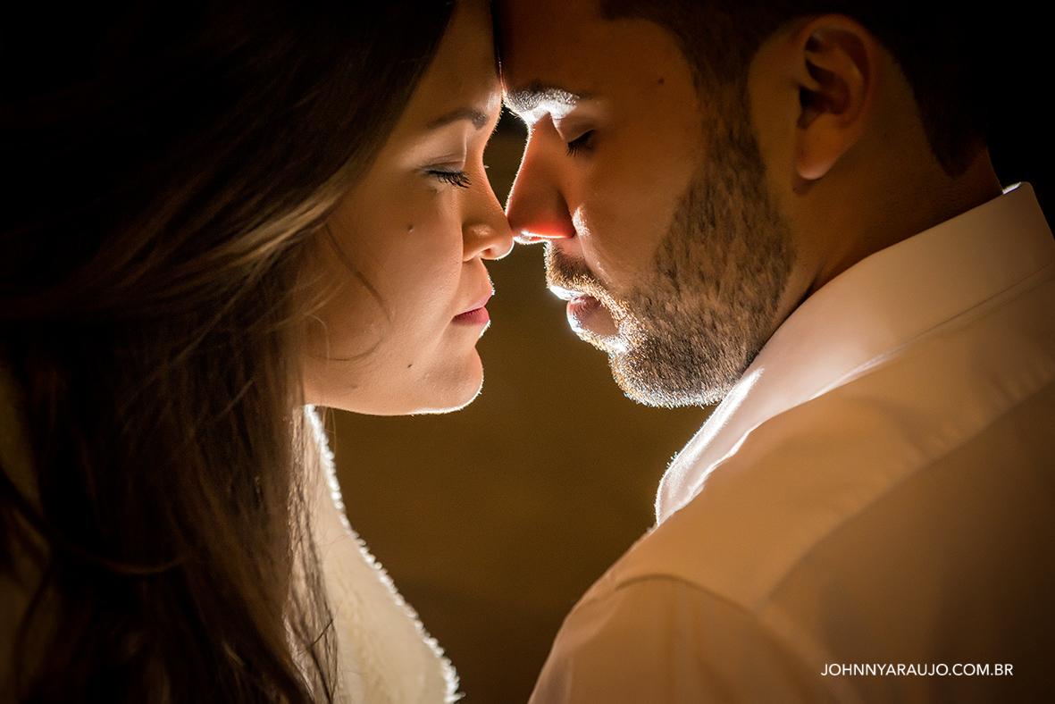 Ensaio romântico dos noivos Alice e Raphael