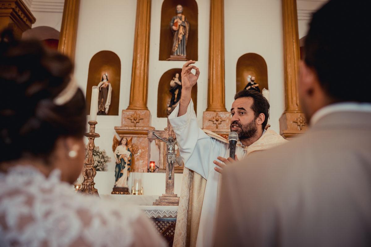 celebração do Padre Arlindo