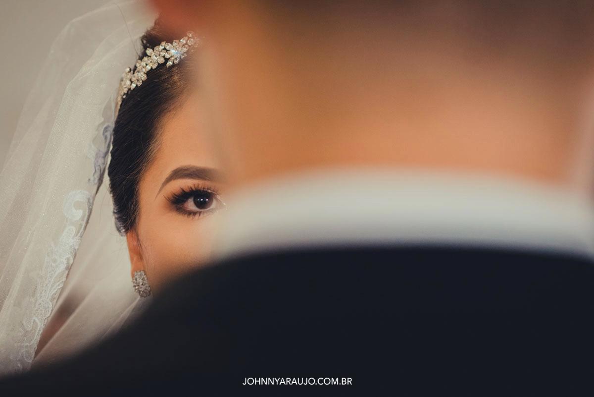 olhar da noiva