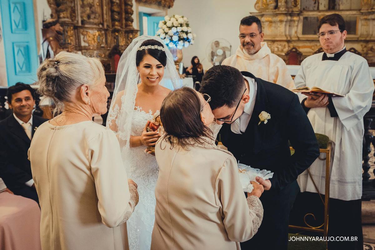 vo do noivo e vo da noiva