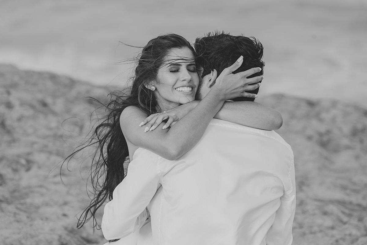 Emoção no pedido de casamento