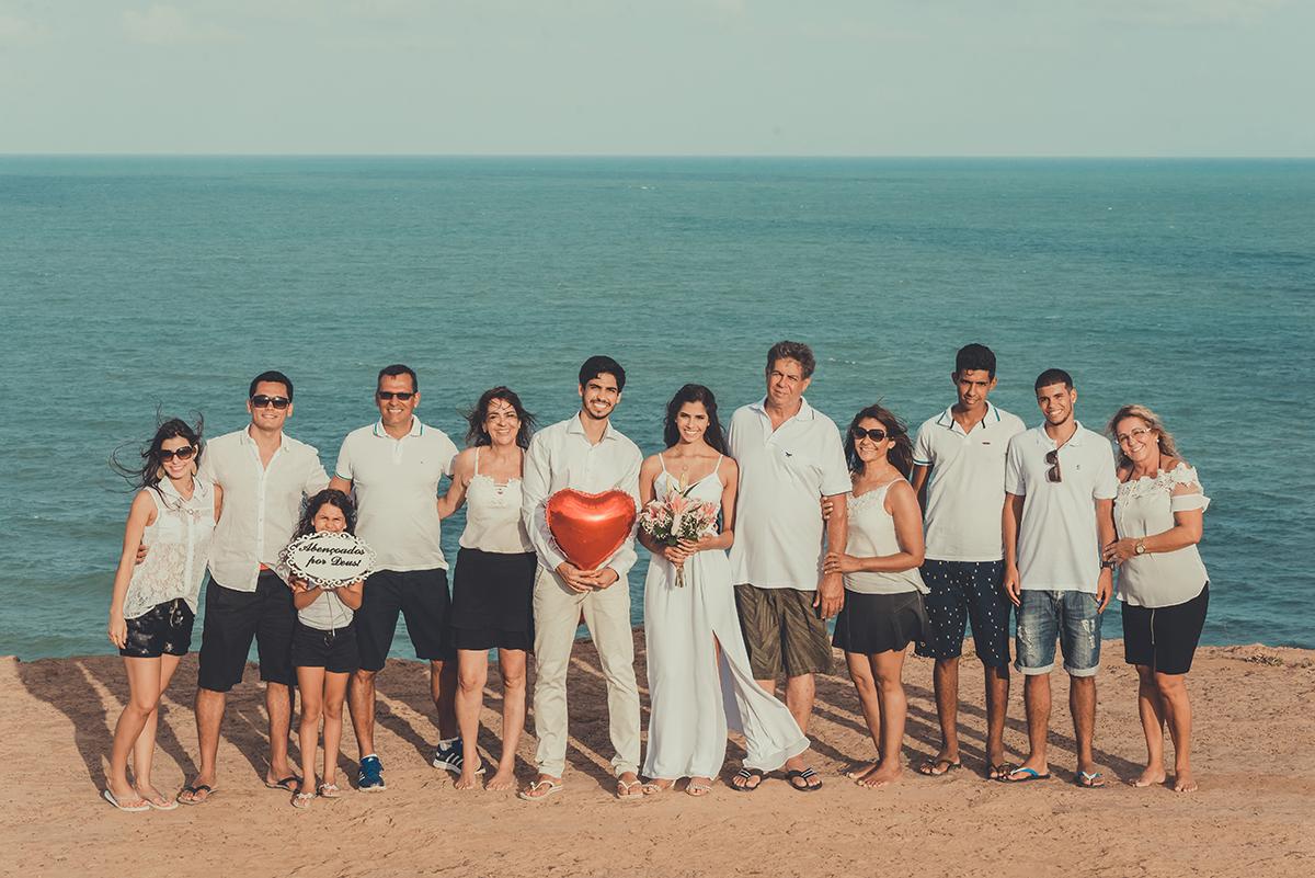 Muito bom receber em nossa grande joão pessoa a família dos noivos que vinharam todos de Ipiranga Minas Gerais