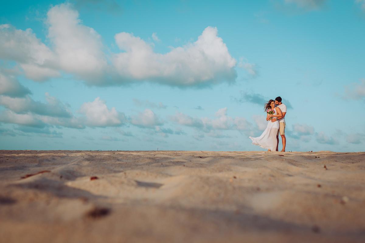 ensaio pre casamento na praia