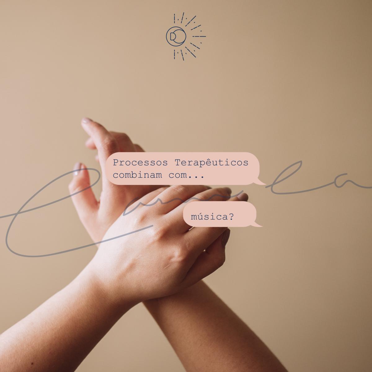 Imagem capa - Música como caminho do sentir por Camila D'Orazio