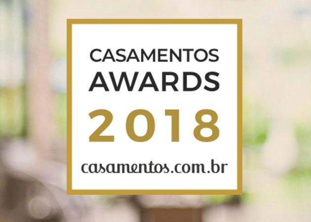 Imagem capa - Casamentos Awards 2018 por Alárison Campos