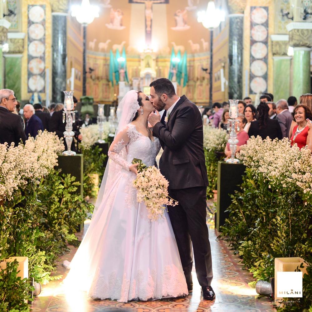 Foto de Daniela e João