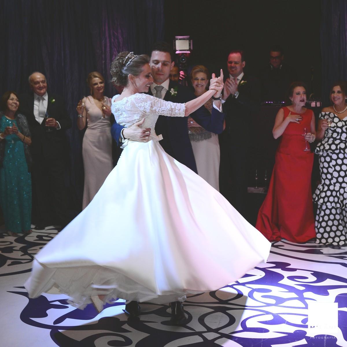 A dança do casal