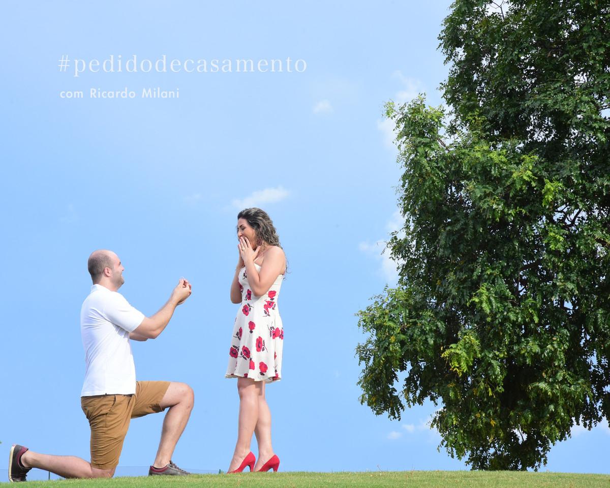 Um pedido de casamento  em Rio Preto