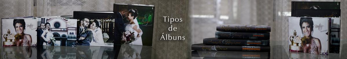 Imagem capa - Tipos de Álbuns por Miriam e Ruben