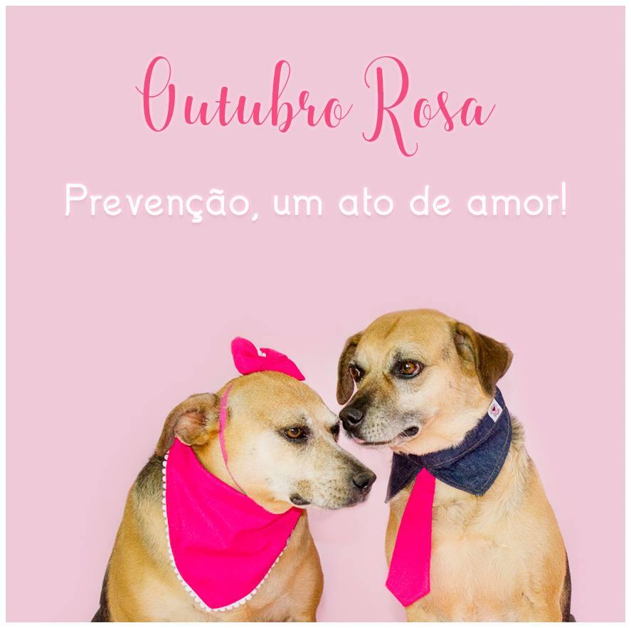 Imagem capa - Outubro Rosa Pet por Retratinhos Pet