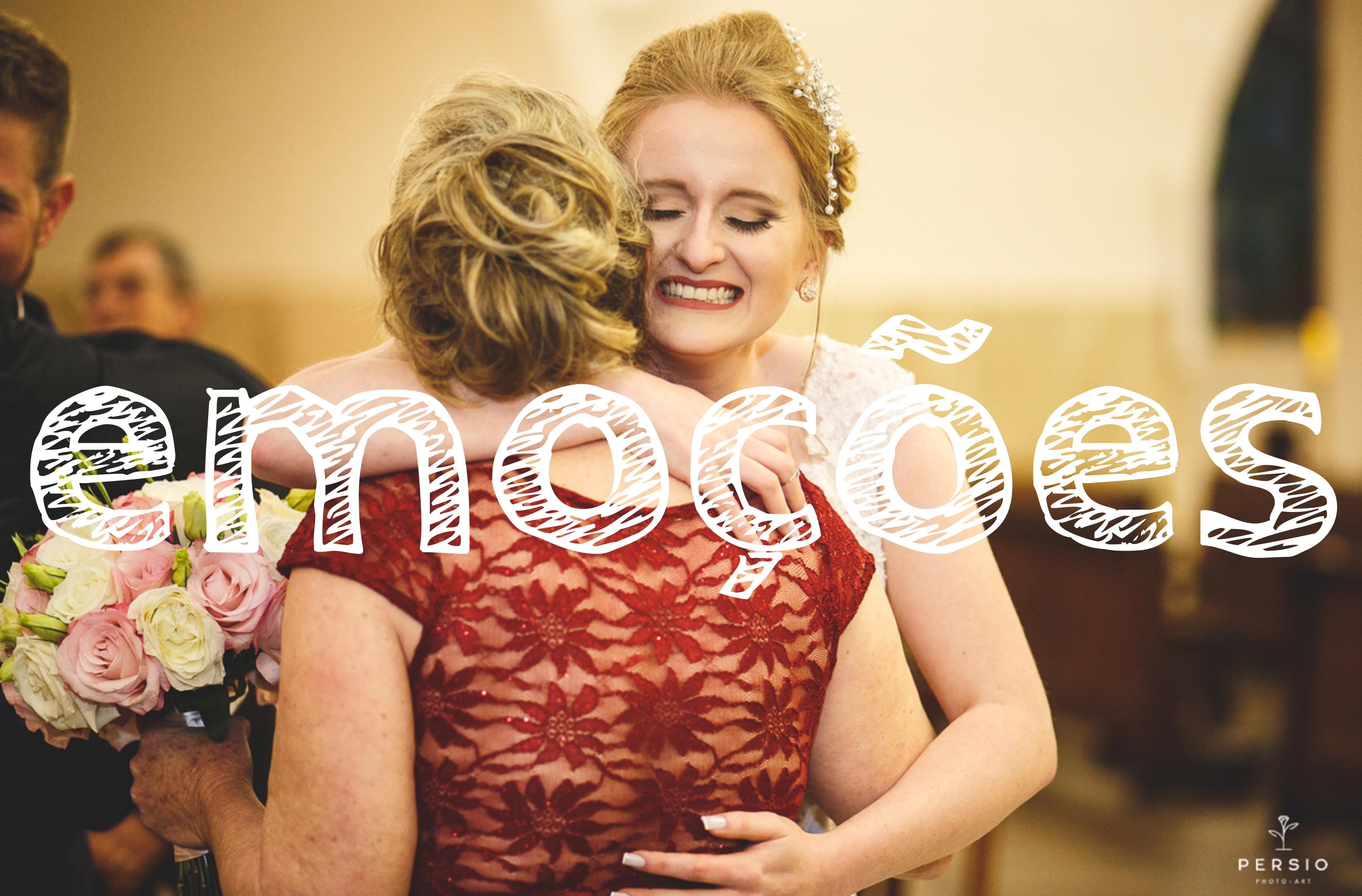 Imagem capa - Um casamento cheio de emoções por Raphaela e Heliel Persio