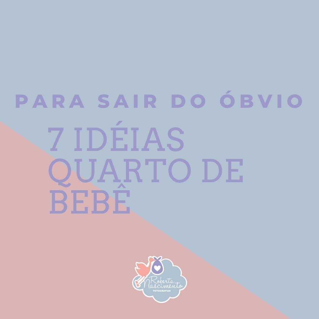 Imagem capa - 7 dicas para sair do óbvio - quarto infantil por ROBERTA NASCIMENTO DE ASSIS RAMOS