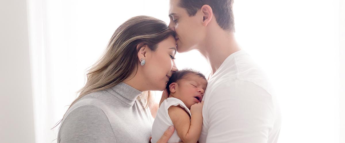 Imagem capa - Sessão Newborn Lifestyle por Carol Dias