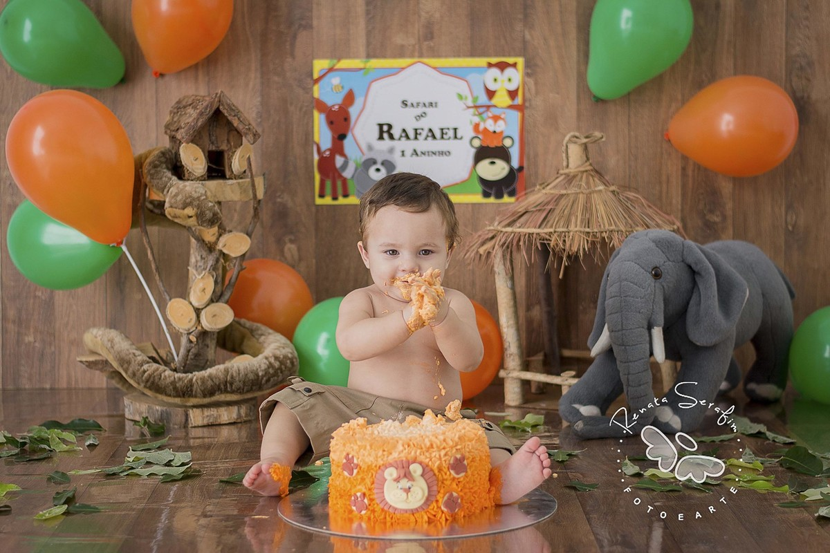 Smash The Cake Safari Do Rafinha Ja 250 Sp