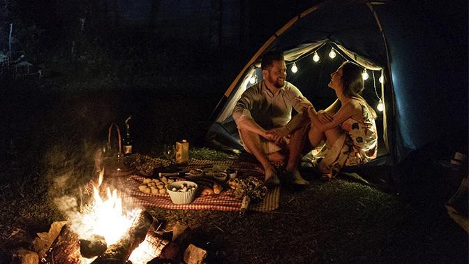 Imagem capa - Apesar de todos os apesares ... - Amor, pôr do sol e fogueira com Anderson e Luana  por Lahm Produtora