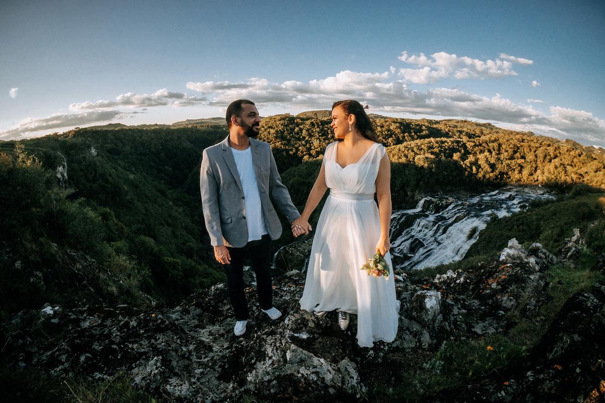 Imagem capa - Renovação dos Votos na cachoeira - Fernanda e Ricardo por Lahm Produtora