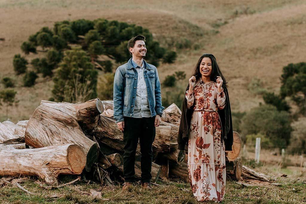 Imagem capa - Pré casamento no campo Joana e Guilherme - Lahm Produtora por Lahm Produtora