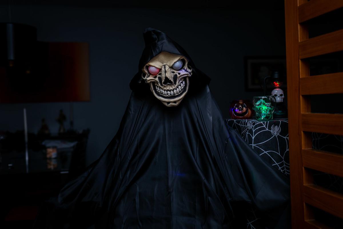 Imagem capa - Halloween 2019; o dia em que meu condomínio foi dominado por monstros assustadores!  por Teca Avelar Fotografia