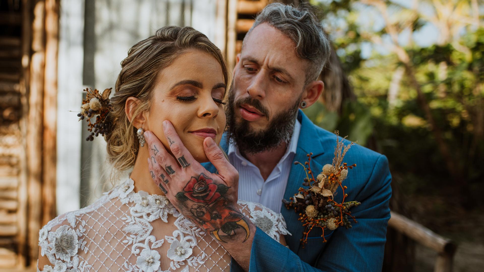 Contate Camila Magalhães - Fotógrafa de casamentos ao ar livre na Bahia