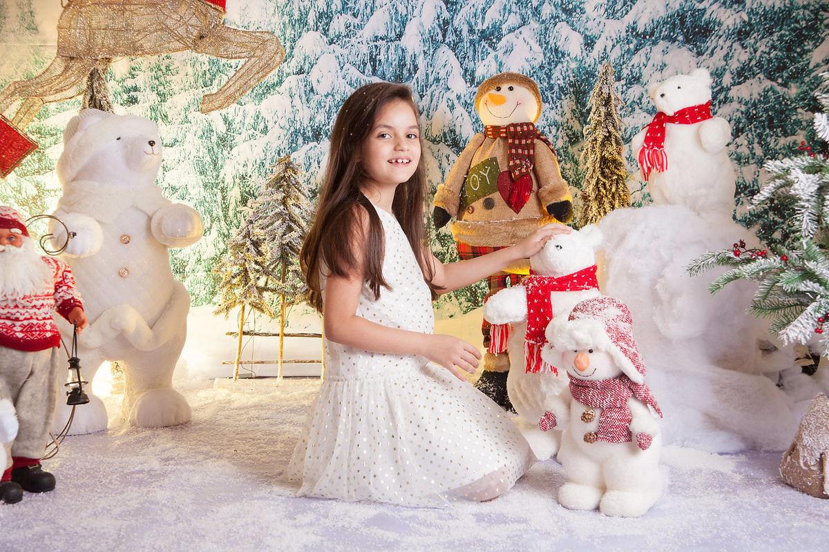 Imagem capa - Fotografia de Natal com cenário especial por Márcia Colonese por Leão Studio Serviços Fotográfico
