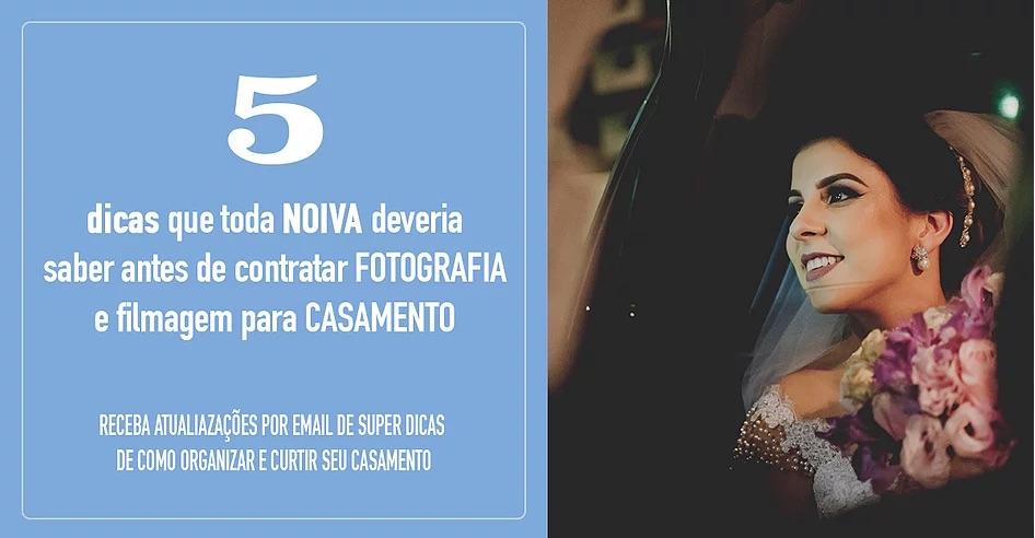Imagem capa - 5 DICAS PARA NOIVAS QUE IRÃO CONTRATAR FOTÓGRAFOS por Vander Zulu & Cia