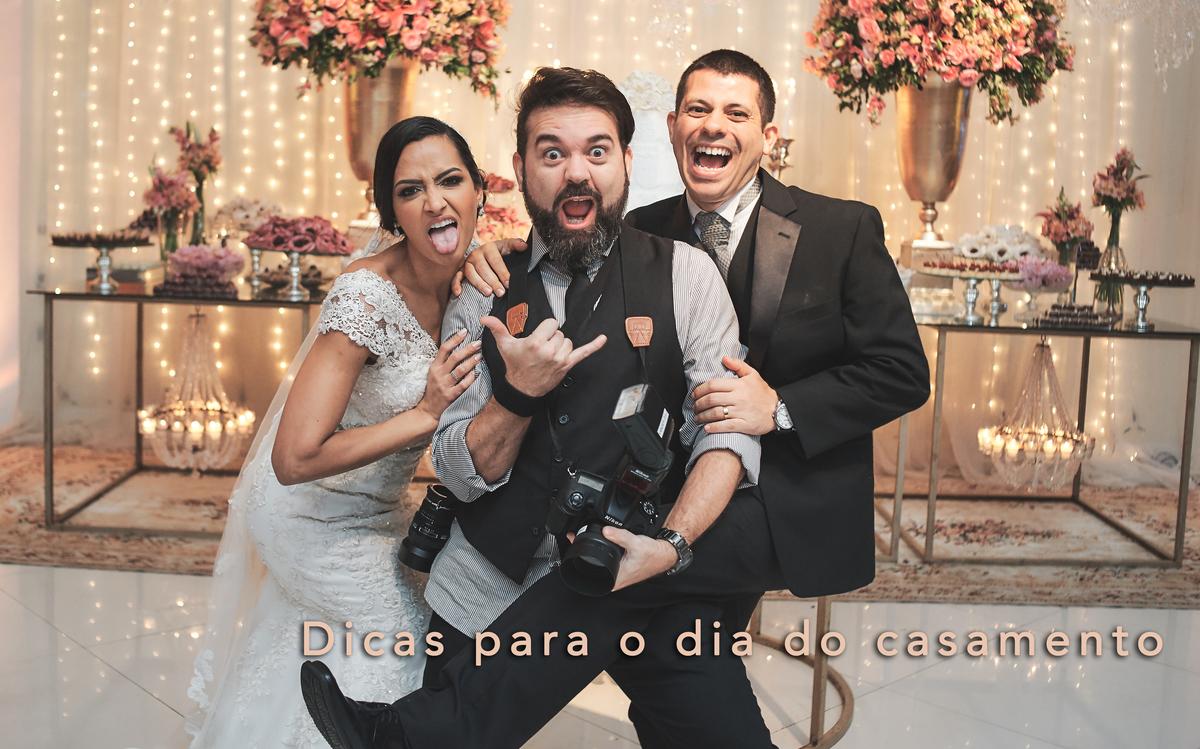 Imagem capa - Dicas para Noivas - Dia do Casamento por Vander Zulu & Cia