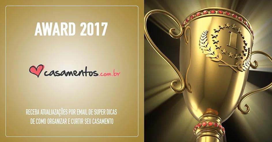 Imagem capa -  Vander Zulu & Cia recebeu o prêmio Casamentos Awards 2017 por Vander Zulu & Cia