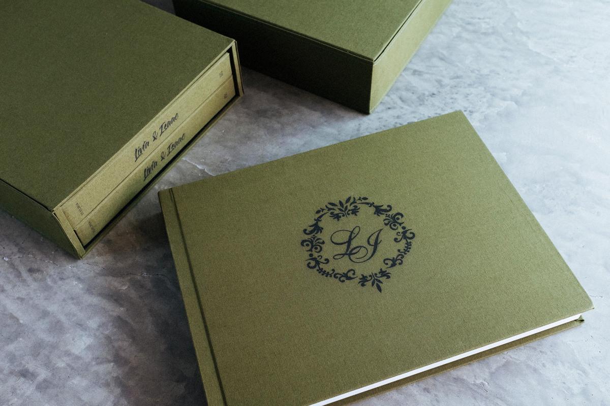 Imagem capa - Álbuns de Linho - Lívia e Isaac por Renata Xavier