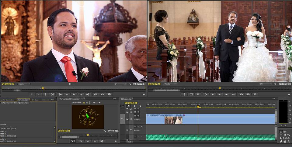 Imagem capa - Montaje en un proyecto audiovisual por Edward Bolívar Sánchez