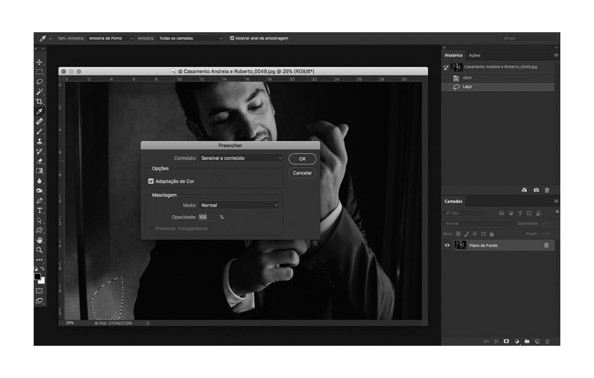 Imagem capa - Como remover objetos de uma imagem de forma rápida - Video por Sérgio Nogueira