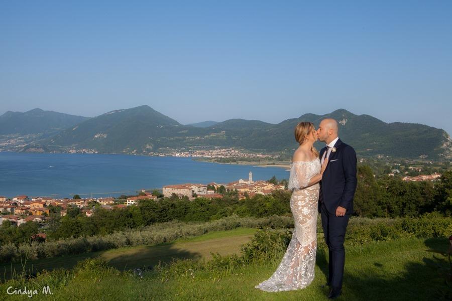 Imagem capa - Menos é mais ao ar livre ❤ Aline & Carlo (Clusane sul Lago, Lombardia, Italia) por cindia maria piraino