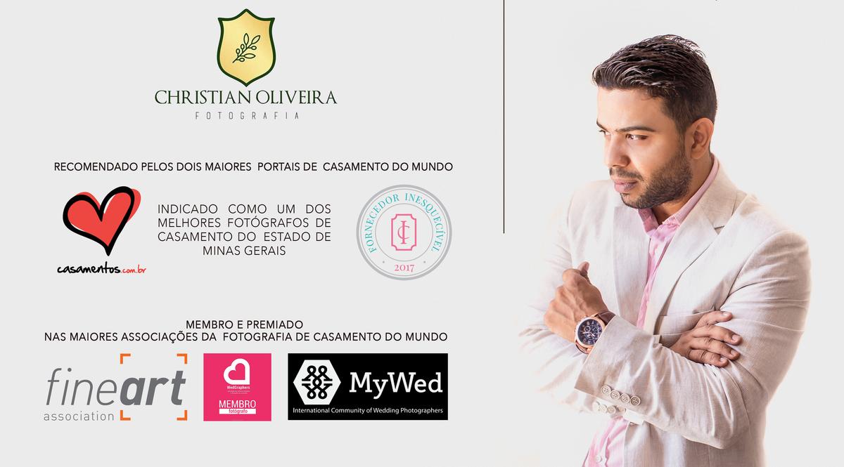 Imagem capa - CHRISTIAN OLIVEIRA FOTOGRAFIA CONQUISTA O PRÊMIO MAIS PRESTIGIADO DO SETOR DE CASAMENTOS NA CATEGORIA FOTOGRAFIA E VÍDEO. por CHRISTIAN OLIVEIRA