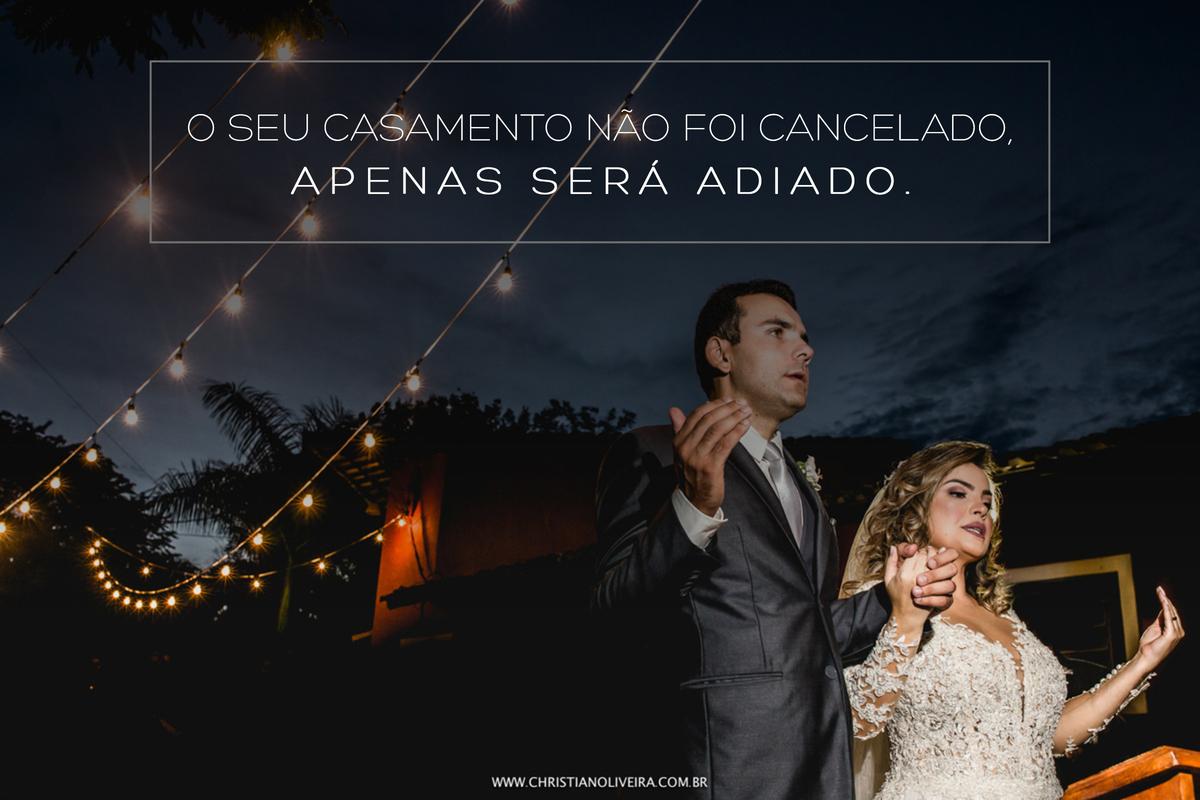 Imagem capa - PANDEMIA DE CORONAVÍRUS, O QUE DEVO FAZER COM O MEU CASAMENTO? por ESTÚDIO CHRISTIAN OLIVEIRA FOTOGRAFIA