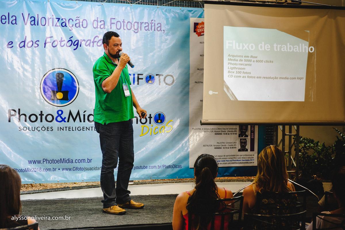 Palestrante Alysson Oliveira, Palestra na Photoweek Uberlandia, Photoweek Uberlandia, Fotografo de Casamento em Uberlandia MG, Fotografia de Casamento Uberlandia MG, Alysson Oliveira Studio Photo, PhotoWeek