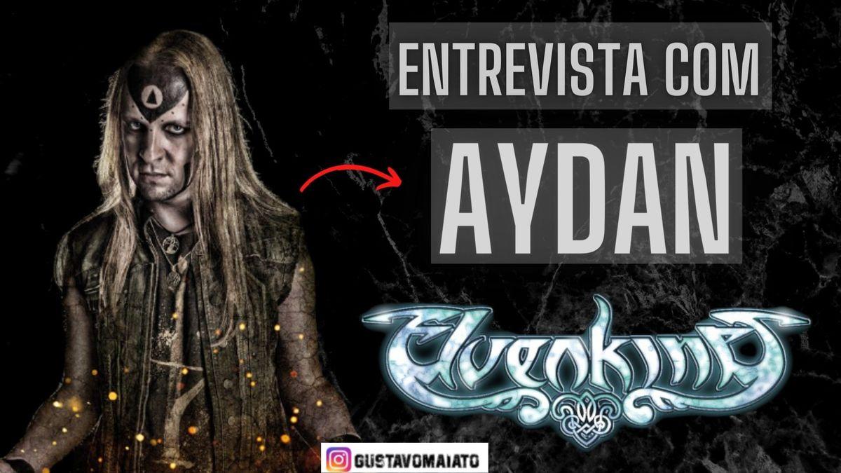 """Imagem capa - Entrevista com Aydan (Elvenking): os 20 anos de """"Heathenreel"""" e a cena folk metal atual por Gustavo Furtado Gonçalves Maiato"""