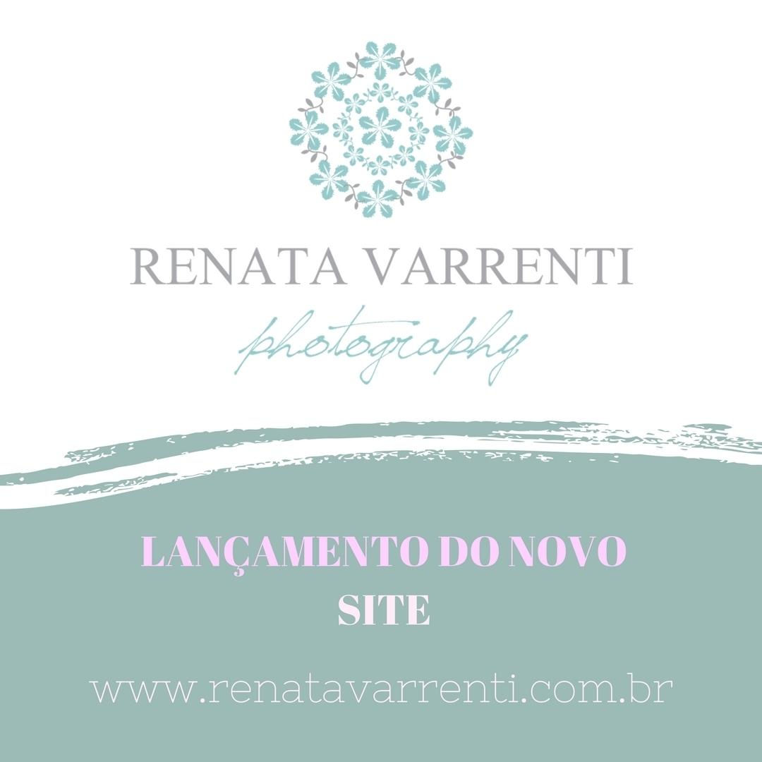 Imagem capa - Hoje é dia de LANÇAMENTO do meu site! por Renata Varrenti