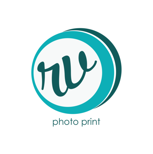 Logotipo de RV Photo Print