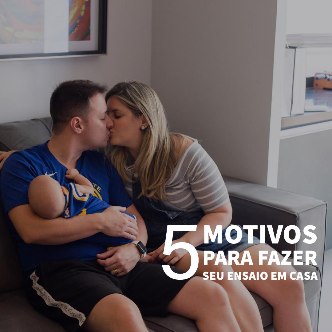 Imagem capa - { 5 Motivos para fazer seu  Ensaio em Casa } por Nós Dois Fotografia