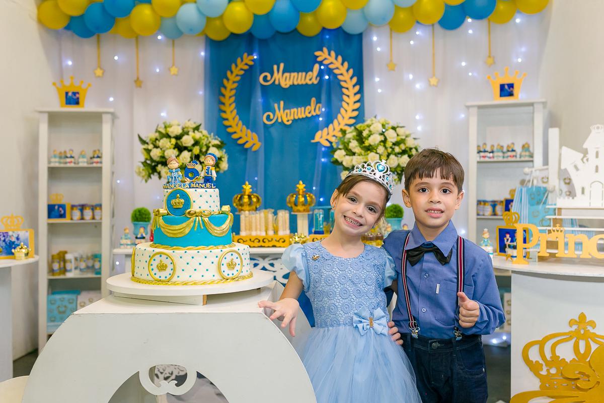 Famosos Aniversários - 6 Aninhos do Manuel e da Manuela - Caxias - RJ VX09