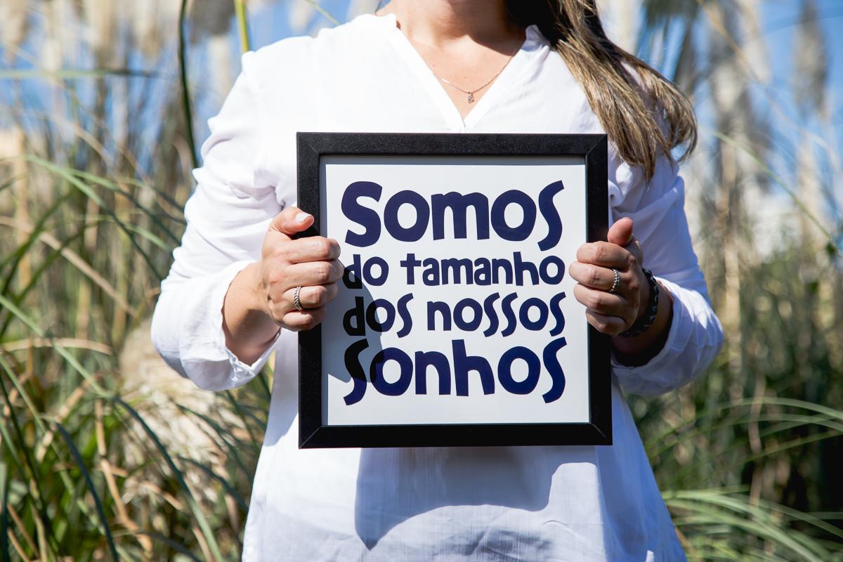 Imagem capa - Somos do tamanho dos nossos Sonhos por Ana Paula Marques dos Santos