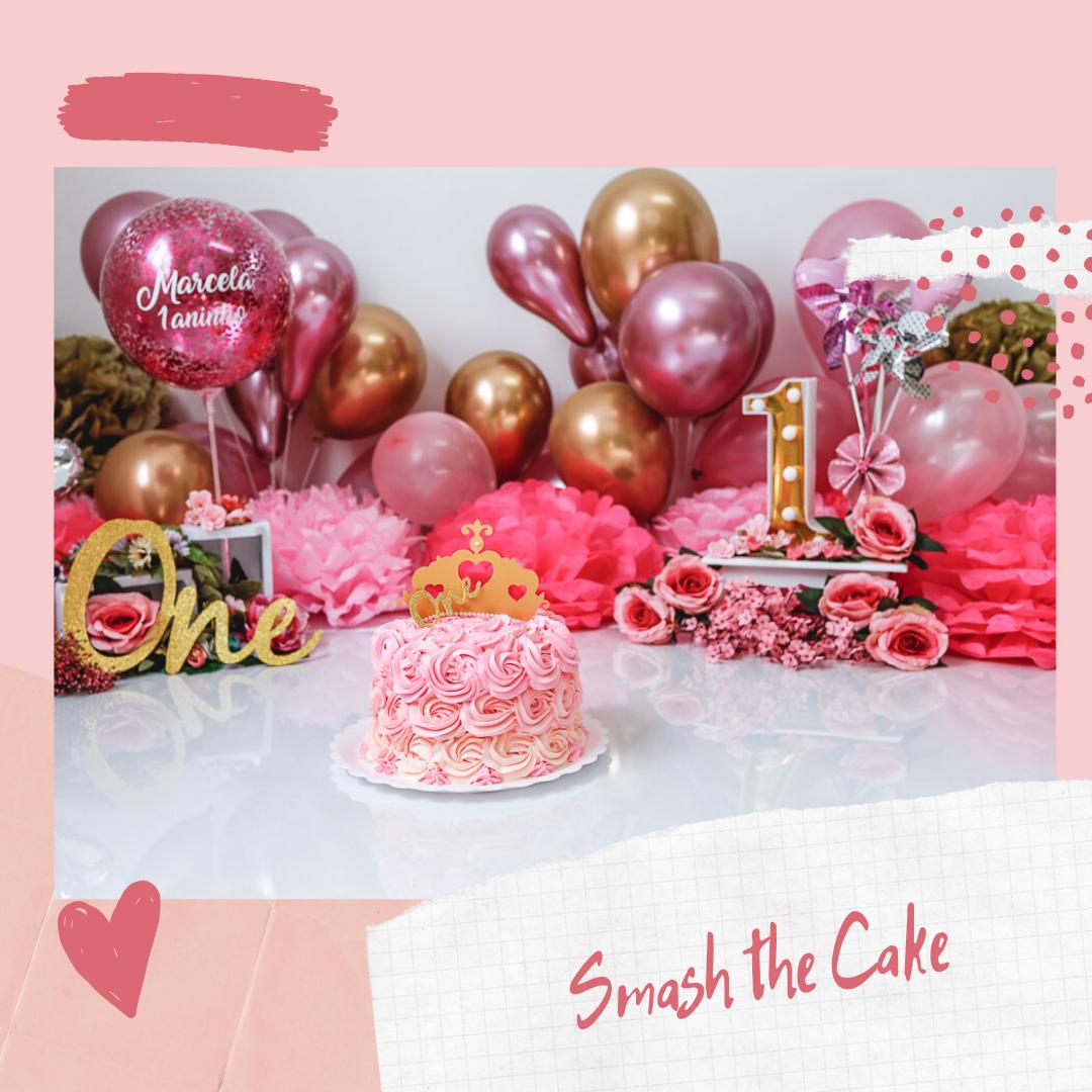 Imagem capa - Como funciona o Ensaio Smash the Cake por Ana Paula Marques dos Santos