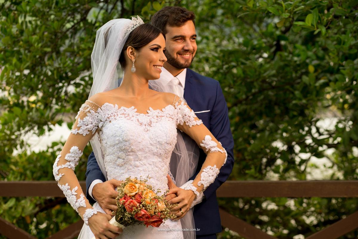 Retrato do casal, fotografia simples e unica feita por Sandro Andrade em Vila Velha, fotografo profissional df.