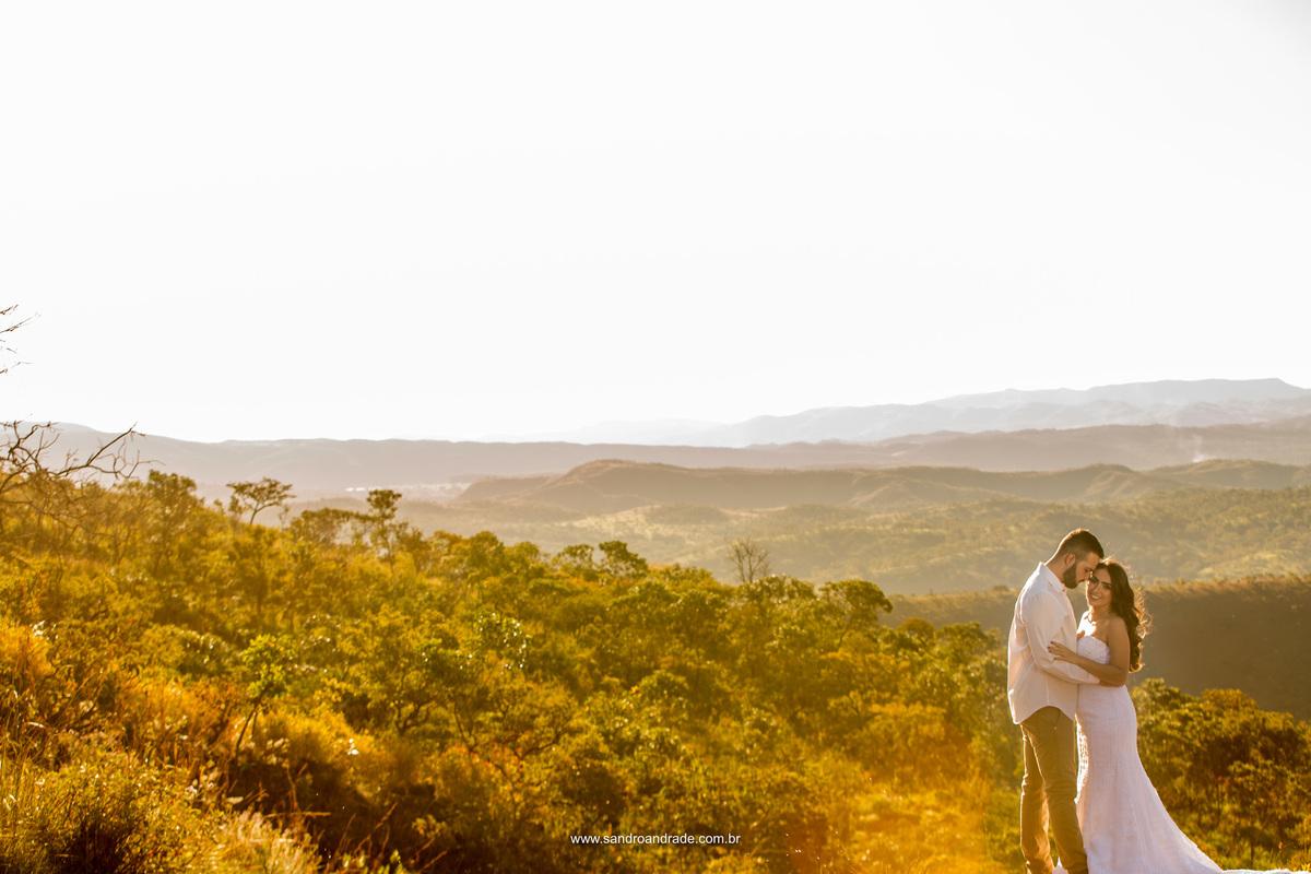 Serrado lindo de Brazlândia, uma bela paisagem no Paraíso na Terra e um amor a dois.